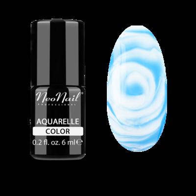 Blue Aquarelle