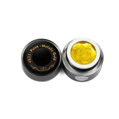 Paint gel 5 ml - >Metallic Gold