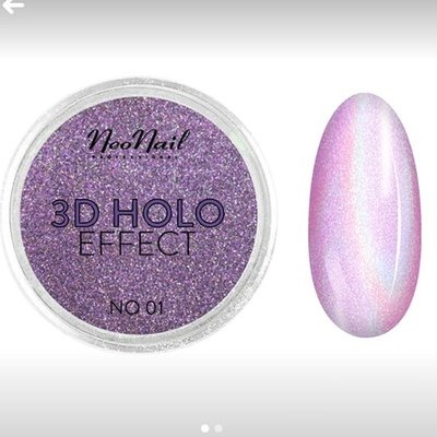 Powder 3D Holo effect 01