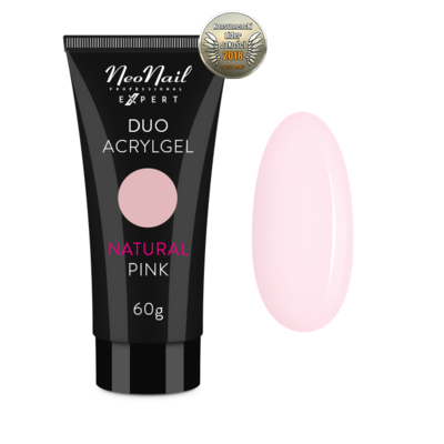 Duo AcrylGEL 60 ml - Natural Pink